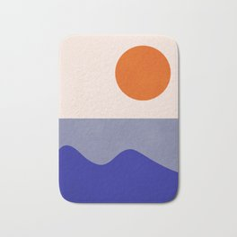 abstract minimal 50 Bath Mat