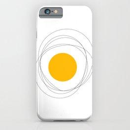 Doodle egg iPhone Case