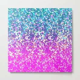 Glitter Graphic G231 Metal Print