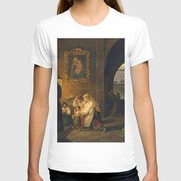 Johann Nepomuk Schödlberger - Das Innere einer italienischen Kirche T-shirt