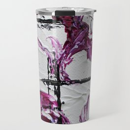 Mini Series [Musical Waves - Rouge Violet] Travel Mug