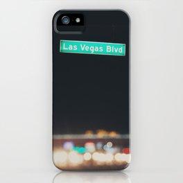Las Vegas Boulevard ... iPhone Case