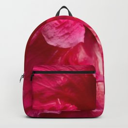 Big Pink Hibiscus Flower The Xandri Collection Backpack