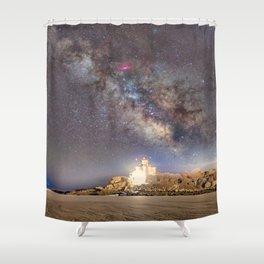 Good Harbor Beach Milkyway 4-4-16 Shower Curtain
