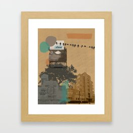 The future will not be monospaced Framed Art Print