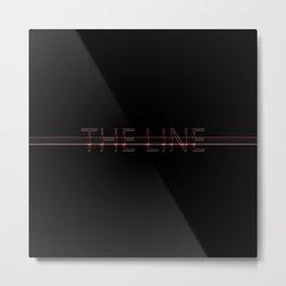The line Metal Print