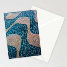 Color at the ground Stationery Cards