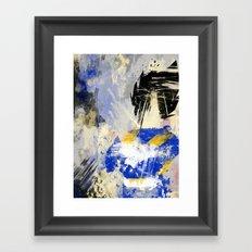 King Vegeta - Digital Watercolor Painting Framed Art Print