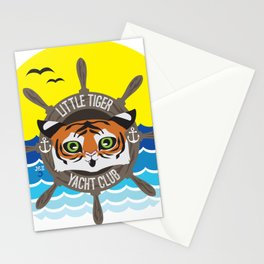 Little Tiger Yacht Club Stationery Cards