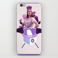 lydia martin iPhone & iPod Skins featuring lydia by Papa-Paparazzi