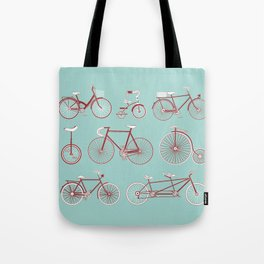 Pedal to the Mettle Tote Bag