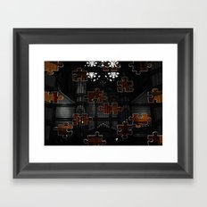 Distracting a Ghost: 1st Rendition  Framed Art Print