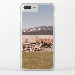 The Concluding Chapter Clear iPhone Case