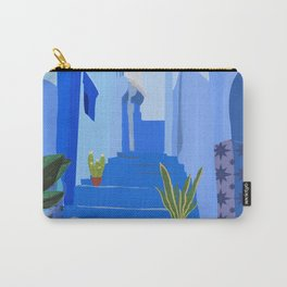 Morocco Blue city Carry-All Pouch