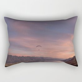Sunset over Lake Wakatipu Rectangular Pillow