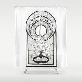 Scissors Shower Curtain