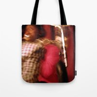 cuba Tote Bags featuring Cuba Tuba by Sandra Ireland Images