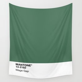 MANTONE® Wage Gap Wall Tapestry