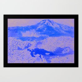 spacescape Art Print
