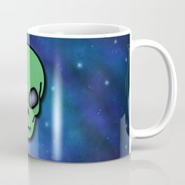 Alien in Space Coffee Mug