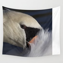 The Shy Swan Wall Tapestry