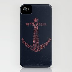 You be the anchor that keeps my feet on the ground... Slim Case iPhone (4, 4s)