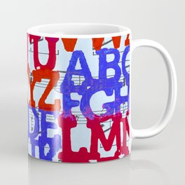 Patriotic ABC Coffee Mug