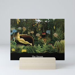 "Henri Rousseau "" The Dream "" Mini Art Print"