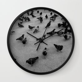 Pidgeons Wall Clock