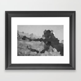 The mystery of the unknown lady    Framed Art Print
