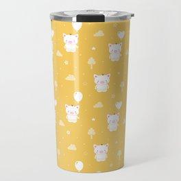 Baby Teddy Pigs Travel Mug