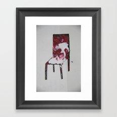 Chair.3 Framed Art Print