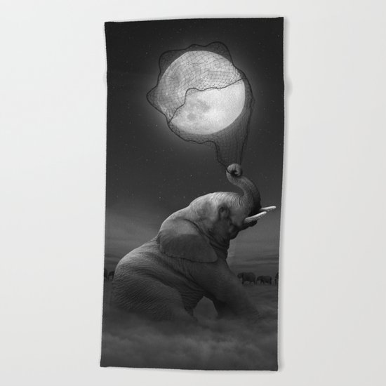 Bringing Light to the Darkness Beach Towel
