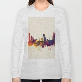 Abu Dhabi Skyline Long Sleeve T-shirt