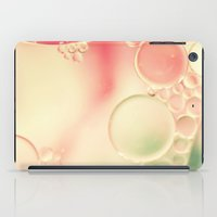 planets iPad Cases featuring Tiny planets by Jamesy (happypastel)
