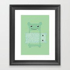 Eaten. Framed Art Print