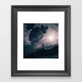 The Structure Framed Art Print