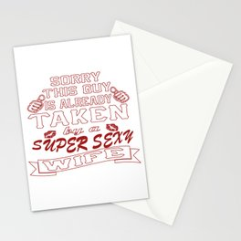 Super sexy wife Stationery Cards