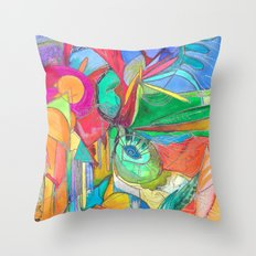 20.000 Leagues Under the Sea Throw Pillow