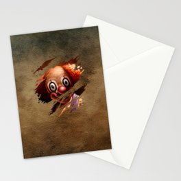 Clown 05 Stationery Cards