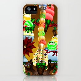 Fusion Keyblade Guitar #179 - Decisive Pumpkin & Sweet Stack iPhone Case