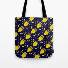 Owl Moon Starry Nights Tote Bag