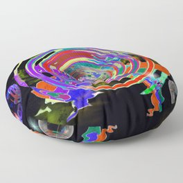 Color Birth Floor Pillow