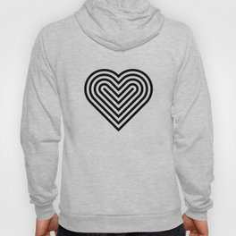 Pop art heart Hoody