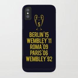 Barcelona Champions - Berlin 2015 iPhone Case