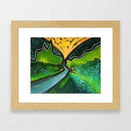 Stony Clove Framed Art Print