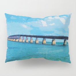 Greetings From The Forida Keys Pillow Sham