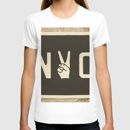 NYC Peace Sign (Color) T-shirt