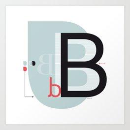 B b Art Print