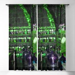 Potion Class - Green Hues Blackout Curtain